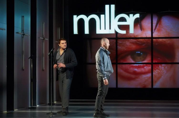 Сцена из спектакля «KILL», театр «Красный факел»