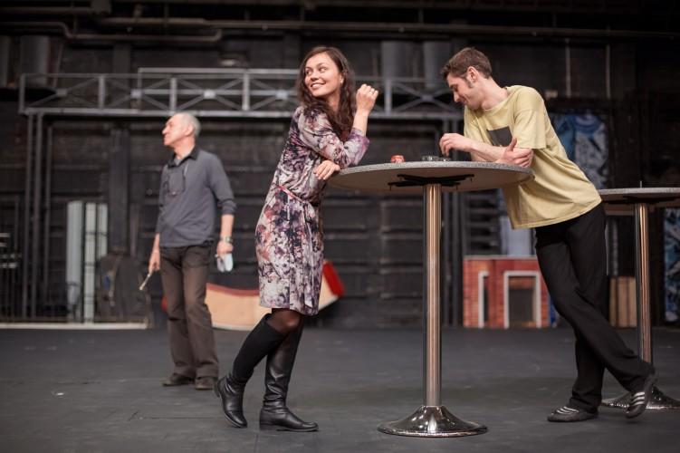 Репетиция спектакля «Довлатов. Анекдоты», театр «Красный факел»
