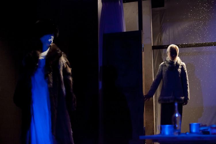 Сцена из спектакля «Унтиловск», театр п/р С. Афанасьева