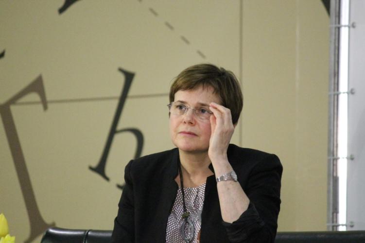 Ирина Прохорова, соучредитель Фонда Прохорова