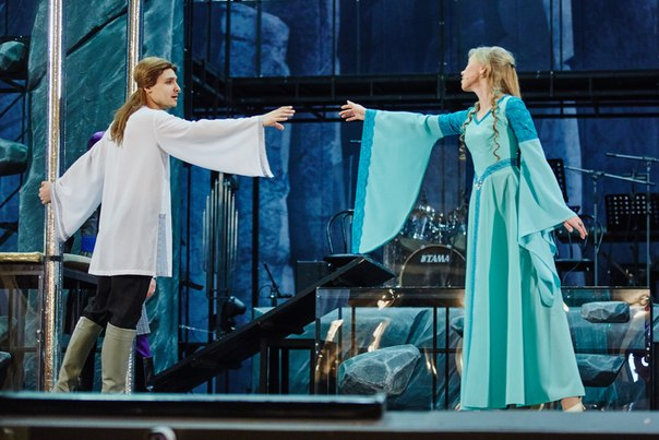 Репетиция. Сцена из спектакля «Тристан и Изольда»