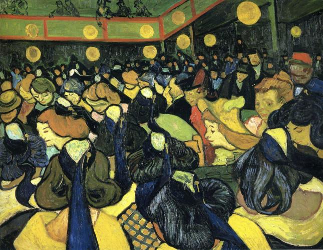 Театр и зритель Ван Гог Публика в театре